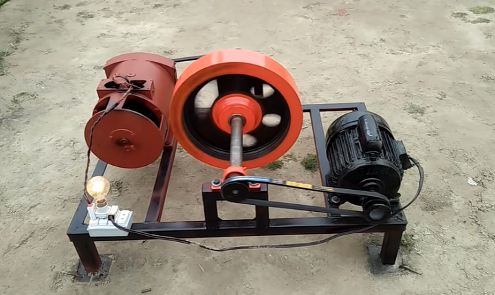 How To Build A Generator Using An Electric Motor